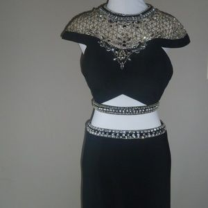 Rachel Allan Women's Dress Prom Two Piece 4